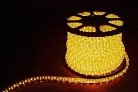 Дюралайт светодиодный LED 2-х жильный желтый