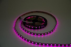 Светодиодная лента SMD 2835 60 LED/м 12V розовый