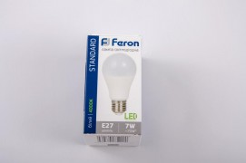 Светодиодная лампа 7W, E27