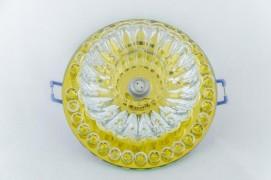 Встраиваемый светильник желтый прозрачный