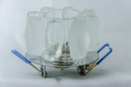Встраиваемый светильник прозрачный матовый STELLA