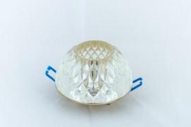 Встраиваемый светильник прозрачный золото RADIANCE