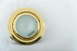 Встраиваемый светильник золото