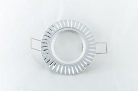 Встраиваемый светильник серебро