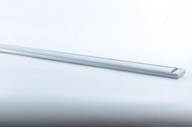 Алюминиевый широкий профиль для светодиодной  LED ленты накладной анодированный FERON CAB 263